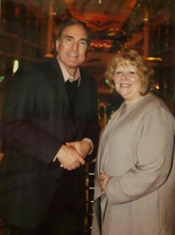 Elizabeth with Richard Fain